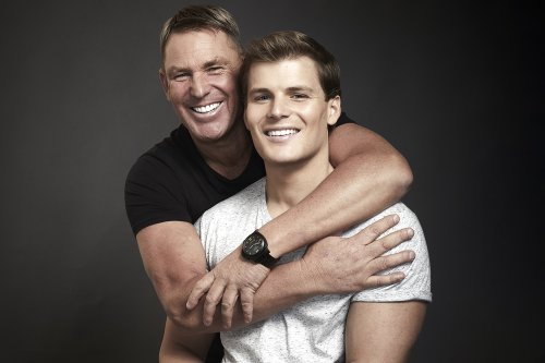 The Warne men on Staying Healthy, Productive and Bonded as Father and Son
