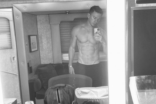 Behold Channing Tatum's 8-Pack