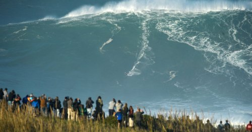 Jaw-Dropping Surf Clips From This Week's Massive Nazaré Swell