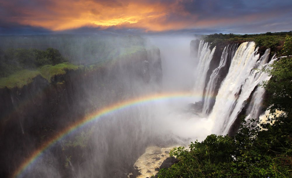 These are 6 of the most powerful waterfalls on the planet