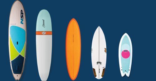 5 Surfboards Every Man Needs in His Quiver