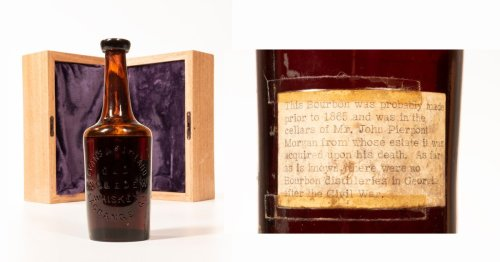The Oldest Known Whiskey Could Fetch $40,000 at Auction Next Month