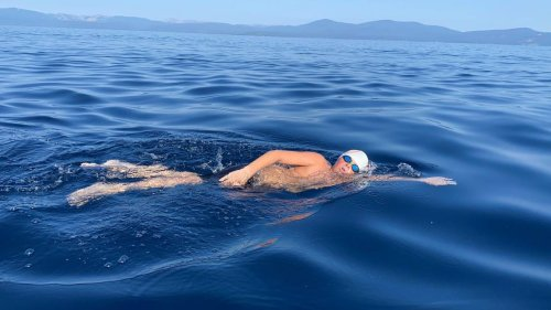 Los Banos teen becomes youngest person to complete Lake Tahoe Triple Crown