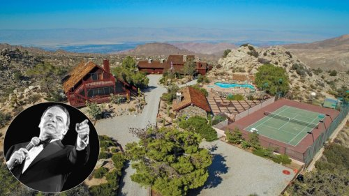 Frank Sinatra's former California desert hideout, with helipad, relists for $4.25 million