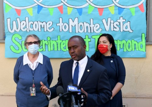California superintendent Thurmond: Vaccines are best way to ensure schools stay open