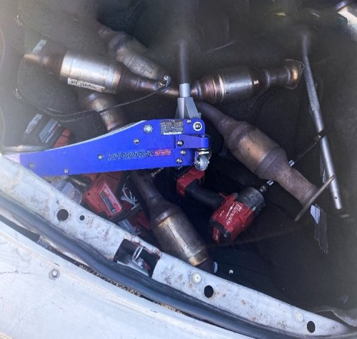 Santa Cruz County task force arrest Oakland man in catalytic converter theft