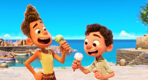 Pixar's lush 'Luca' celebrates young friendship — with a twist