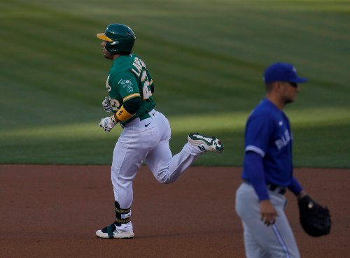 Trivino's rough inning against Toronto ends A's three-game win streak