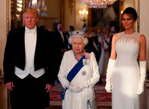 Kimberly Guilfoyle kept from queen's state dinner as Trumps viewed as 'Beverly Hillbillies,' Stephanie Grisham's says