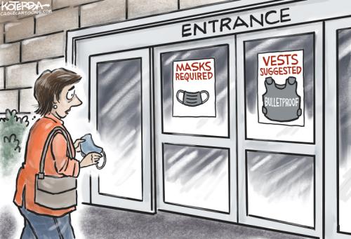Cartoons: Anti-Asian violence | Boulder shooting | Border crossings