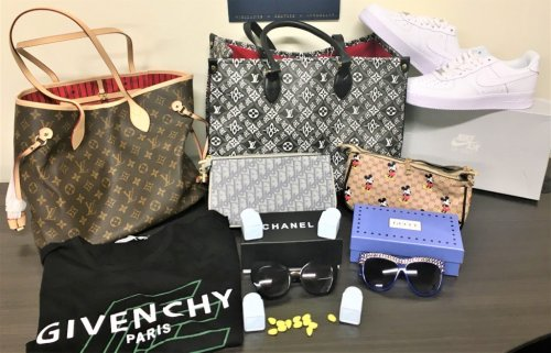 $12.7 million in counterfeit Cialis pills, Louis Vuitton bags, and Chanel sunglasses seized at Southern California ports area