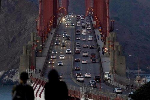 Engineers work to silence loud hum on Golden Gate Bridge