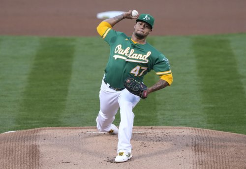 A's cruise to sixth straight win, beating Detroit Tigers 3-0 behind Frankie Montas