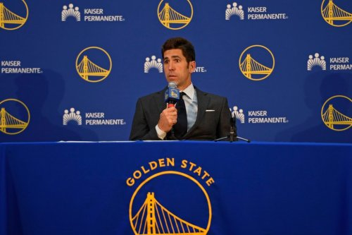 For now, Warriors GM Bob Myers plans to draft Nos. 7 and 14, but that could change