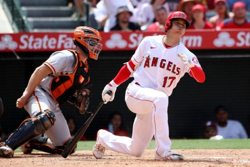 SF Giants sweep Angels with seven runs in chaotic 13th inning, Gausman, Ohtani live up to hype