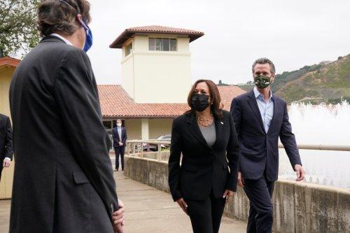 Kamala Harris returns to Oakland to tout infrastructure, jobs plan