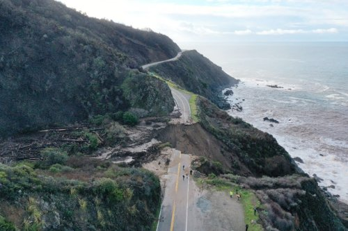 Highway 1 in Big Sur to reopen two months early after massive slide