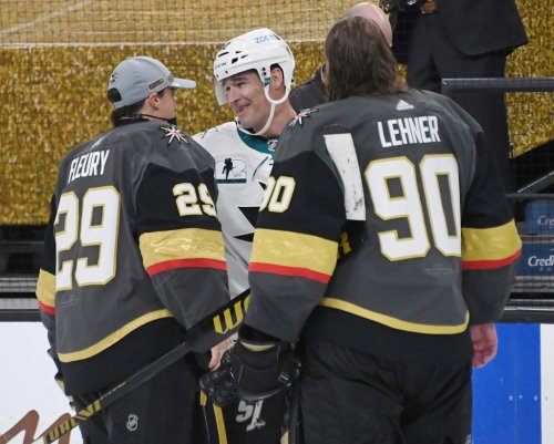What the Sharks, Golden Knights said about Marleau's historic night