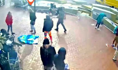 San Francisco: New video shows suspect being beat by multiple assailants moments before attacking elderly Asians