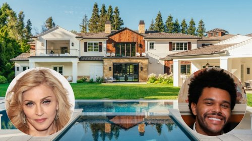 Photos: Madonna buys The Weeknd's California estate for $19.3 million