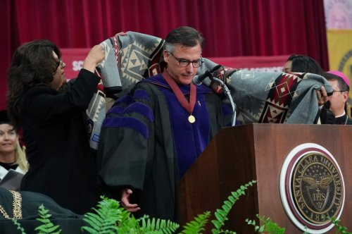Santa Clara University President Kevin O'Brien resigns after 'inappropriate behaviors'