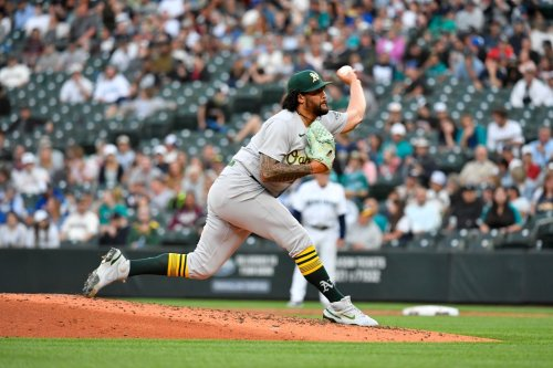 Sean Manaea strikes out career-high 13 in Oakland's victory over Seattle