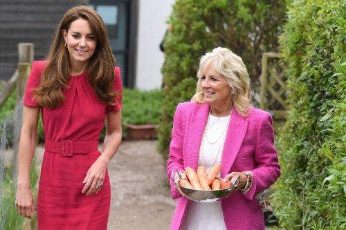 Kate Middleton spends time with Jill Biden, unlike Melania Trump