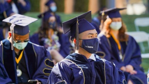 Covid: Face masks block expired particles, despite leakage, UC Davis study finds