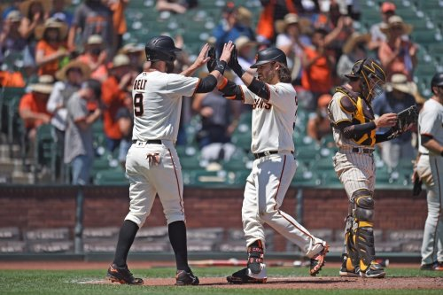Giants' Gausman beats Padres again with help from Crawford, Belt