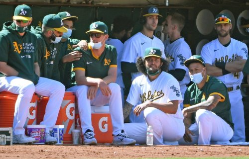 """How chemistry buoys the Oakland A's starting staff success: """"A unique bond that you rarely see in Major League Baseball"""""""