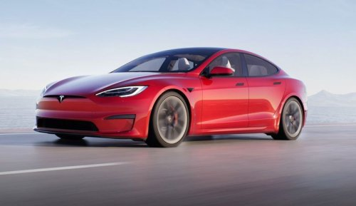 Elon Musk shows off Tesla's fastest car yet, the Model S Plaid