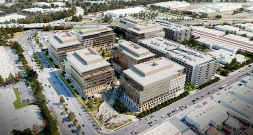 Big tech campus at old Fry's north San Jose store site pushes ahead