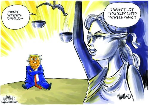 Cartoons: Trump legal woes mount, GOP divided over party's future