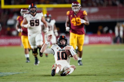 An inside look at the Oregon State running game that leveled USC and broke a 61-year losing streak