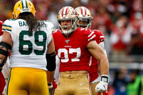 Inside the 49ers: Teammates buzzing about Bosa; Sherman's QB draft call; online books see hefty win total