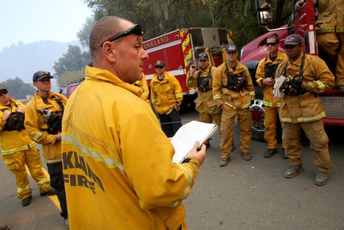 Oakland Fire Department readies for wildfire season
