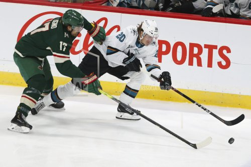 Second period lapse costs Sharks as losing streak continues