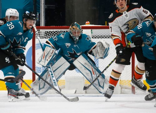 Sharks swept by Anaheim Ducks as dismal homestand ends