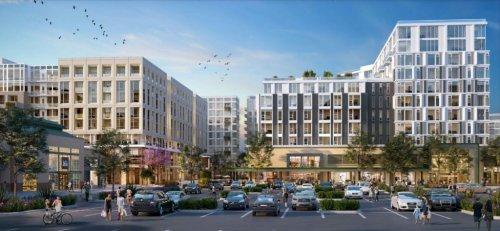 Santana Row-style mixed-use village makes progress in San Jose