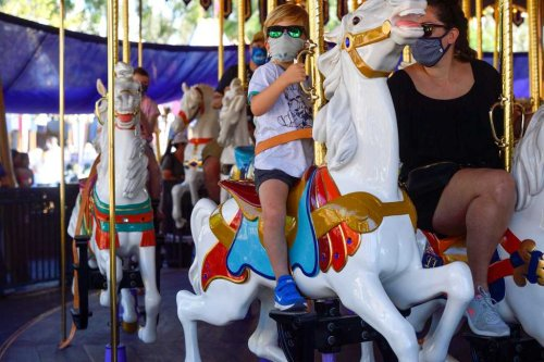 Disneyland polishes Fantasyland's crown jewel with carousel makeover