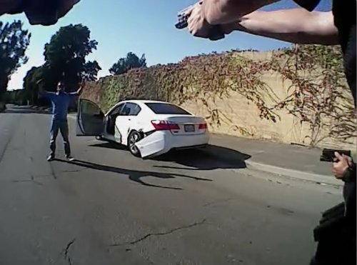 Suit claims Vallejo cop who tackled man for filming was part of 'vigilante police gang' that bent badges to mark kills