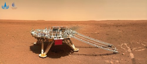 New images of Mars from China's Zhurong rover released