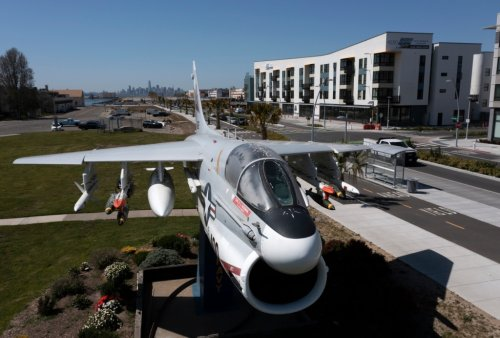 Exclusive: Drone photos and video of new housing development at Alameda Point