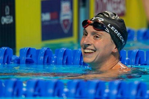 Olympic gold medalist Katie Ledecky leaving Stanford for University of Florida