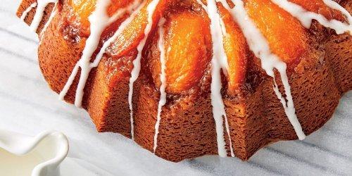 Peach-Bourbon Upside-Down Bundt Cake Recipe | Southern Living