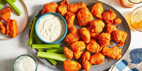 You Won't Miss the Bones in These Buffalo Chicken Bites