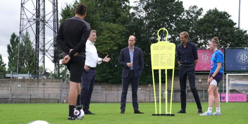Prince William Shows He's Not Playing Around When It Comes to Soccer