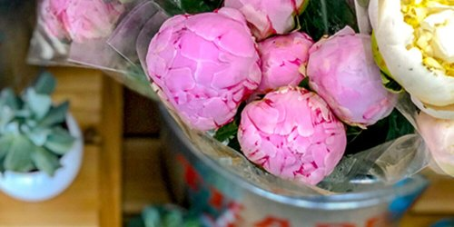 Trader Joe's Famous Peonies Are Back in Stores-but Only for a Limited Time