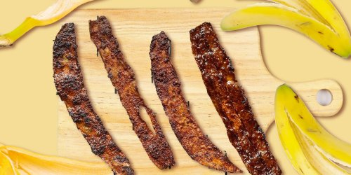The Internet Is Going Crazy Over Faux Bacon Made Out of Banana Peels