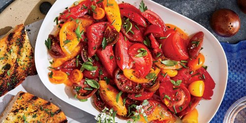 Mixed Herb-and-Tomato Salad Recipe   Southern Living